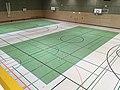 Dreifeldersporthalle, Warschauer Straße 30 (Berliner Straße 3), Weimar-West, Thüringen, Deutschland.jpg