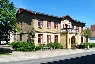Dronninglund - The local library of Dronninglund.