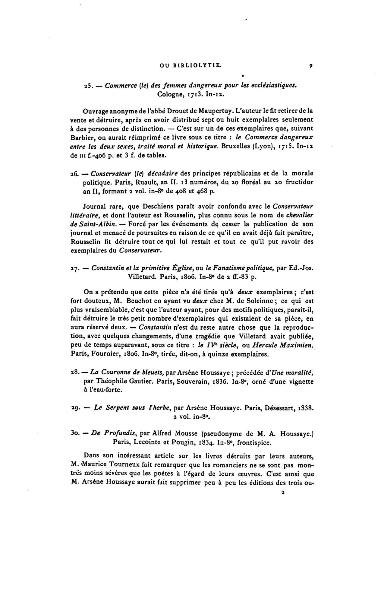 Page Drujon Essai Bibliographique Sur La Destruction