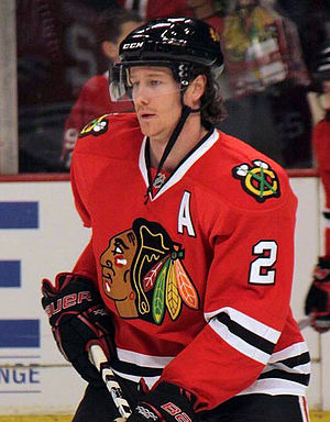 Duncan Keith - Keith with the Chicago Blackhawks in 2011