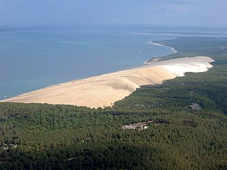 Dune of Pilat - Aerial view of the Dune of Pilat