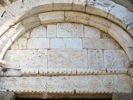 Duomo di sovana, ext., portale 03