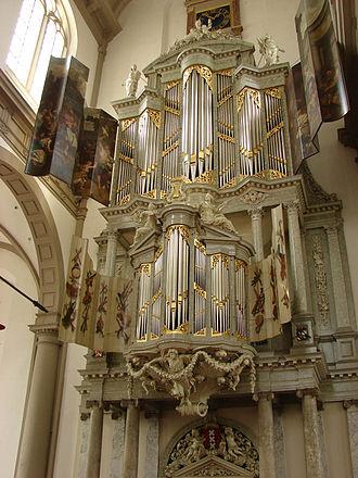 Westerkerk - Duyschot Organ Westerkerk Amsterdam