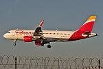 EC-LVQ, Airbus A320-216, (5590), Iberia Express, London Heathrow (LHR), 05-01-2017 (36075432526).jpg