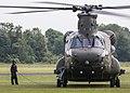 EGWC - Boeing Chinook HC6A - Royal Air Force - ZD983 (27871725757).jpg