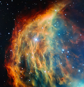Gemini (constellation) - Image: ESO Very Large Telescope images the Medusa Nebula
