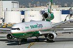 EVA MD-11F B-16110 taxis to cargo area, LAX (4209849352).jpg