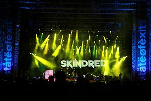 Skindred - Skindred on the Exit festival