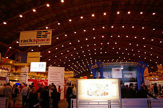 Earls Court Exhibition Centre - Exhibition inside Earl's Court Two