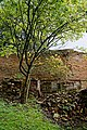 Easton Lodge Gardens, Little Easton, Essex, England ~ walled garden wall and rubble.jpg