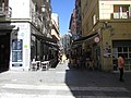 Eastwards along Calle San Francisco, Alicante, 16 July 2016.JPG