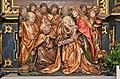 Eberstein Hochfeistritz Wallfahrtskirche Leonhard-Altar Relief Marientod 25112013 505.jpg