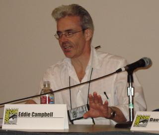 Eddie Campbell British comics artist and cartoonist