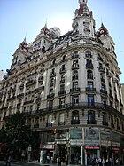 Edificio Bencich (desde Esmeralda)
