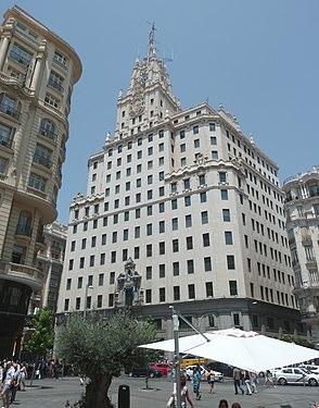 Edificio Telefónica (Gran Vía 28, Madrid) 04.jpg