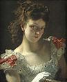 Edouard agneessens-la mujer del guante.jpg