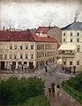 Edvard Munch - Street Corner on Karl Johan, Grand Cafe.jpg