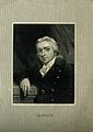 Edward Jenner. Line engraving after J. R. Smith, 1800. Wellcome V0003071.jpg
