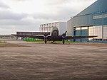 Een dakota in het vliegkamp Valkenburg.jpg