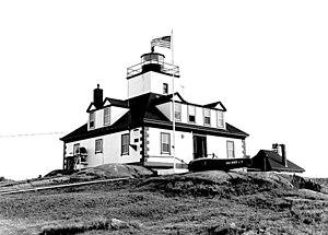 Egg Rock Light (Maine) - Image: Egg Rock Lighthouse Maine