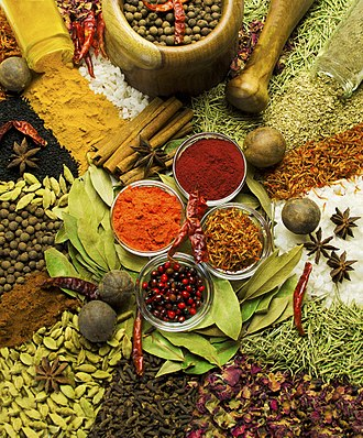 Egyptian cuisine - Spices commonly used in Egypt