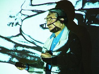 Eikoh Hosoe - Hosoe during FotoArtFestival 2005 in Poland