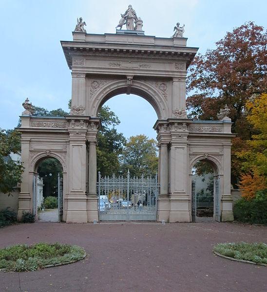 File:Eingangstor Rückseite Bürgerpark Pankow.JPG