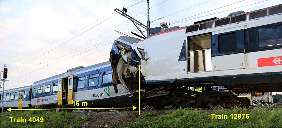 Eisenbahnunfall von Granges-Marnand