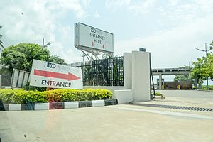 Eko Hotels and Suites - Image: Eko Hotels & Suites Entrace