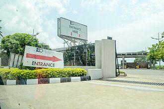 Eko Hotels and Suites - Image: Eko Hotels & Suites Entrace