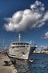 El Crucero MS Belle del Adriático en el muelle de Santa Catalina de Las Palmas de Gran Canaria Islas Canarias (6413742081).jpg