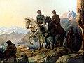 El cruce de los Andes por el Gral. San Martín.JPG