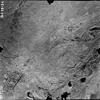 Elcor, Minnesota - Image: Elcor Aerial 1948