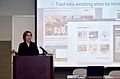 """Electronic Records Conference, November 3-4, 2011 at the McKimmon Center in Raleigh, NC. """"The Digital Civil War- Commemorating the Sesquicentennial""""- Michelle Czaikowski, N.C. Department of Cultural (6331013981).jpg"""