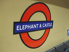 Elephant & Castle tube station
