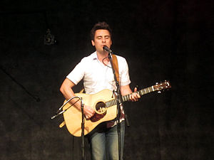 Eliot Bronson - Bronson performing in Duluth, Georgia in 2012