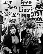 Montgomery (right) and Katherine Helmond as Emma and Lizzie Borden