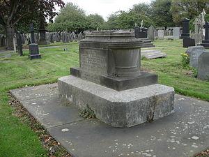 Weaste Cemetery - Image: Elkanah Armitage tomb