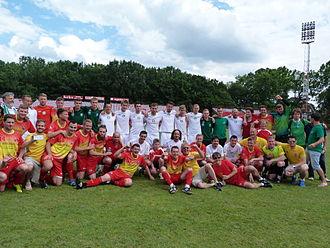 Ellan Vannin football team - Ellan Vannin – Felvidék – Debrecen, 2015.06.21