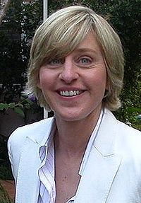 DeGeneres in Los Angeles, January 2004