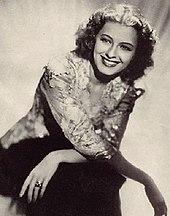 Black and white photo of Ellen Drew