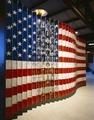 Ellis Island flag and faces exhibit photograph, Ellis Island, New York, New York LCCN2011630651.tif