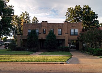 National Register of Historic Places listings in Jackson County, Oklahoma - Image: Elmer and Lela Garnett House