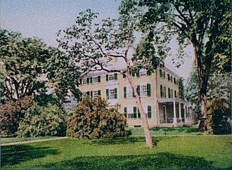 Elmwood (Cambridge, Massachusetts) - A photochrom image of Elmwood, published by the Detroit Publishing Co. in the 1890s