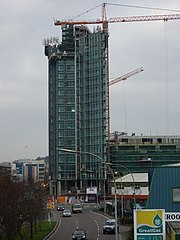 The Elysian under construction in December 2007
