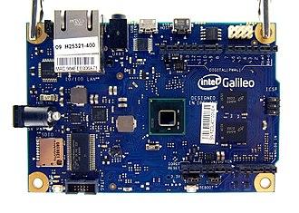 Intel Quark - Intel Galileo-board with Quark-processor