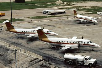 Continental Express Flight 2574 - A fleet of Continental Express Embraer EMB-120RT Brasilias identical to the one involved in the incident.