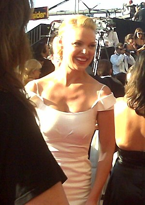 Katherine Heigl - Heigl at the 59th Annual Emmy Awards in 2007