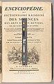 Encyclopédie, ou Dictionnaire raisonné des sciences, des arts et des métiers, par une société de gens de lettres MET b1020577 target.jpg