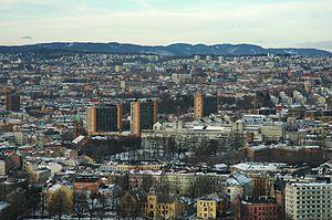 Enerhaugen - Enerhaugen  as seen from Ekeberg